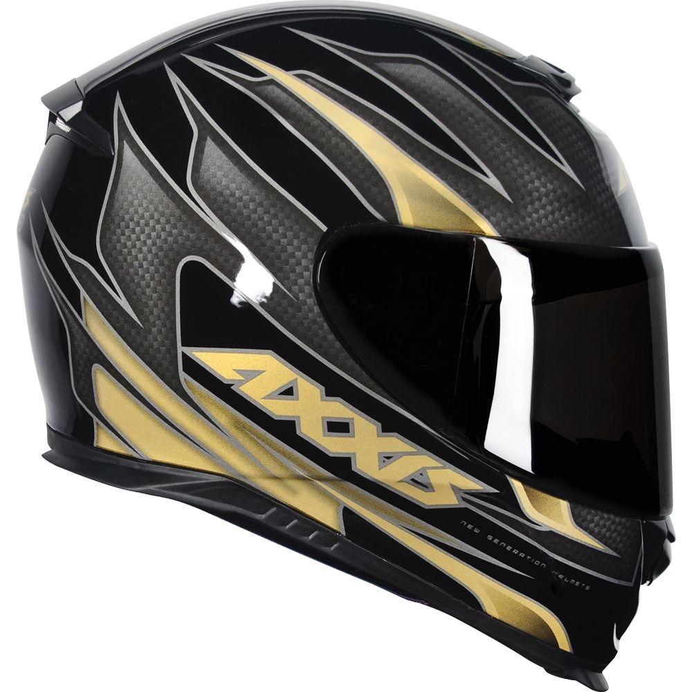 Capacete Axxis Eagle Speed Gloss - Dourado