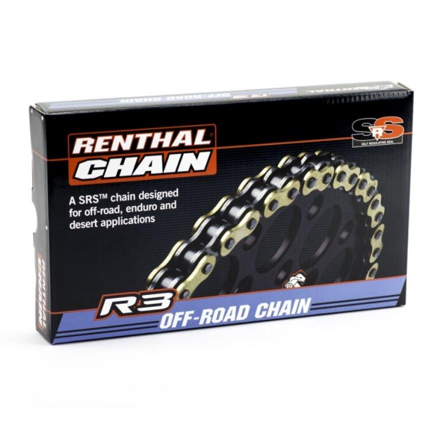 Corrente Renthal 520X120 R3-3 SRS O-RING (Com Retentor)