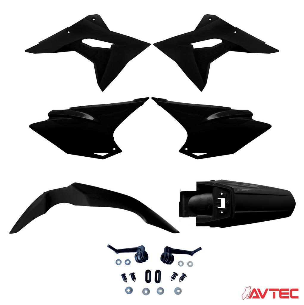 Kit Plástico Avtec CRF 230 97/20 Pro