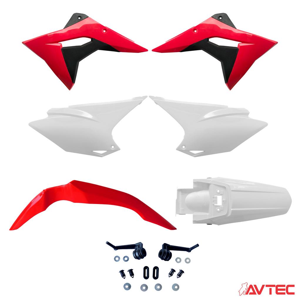 Kit Plástico Avtec CRF 250F 19/20