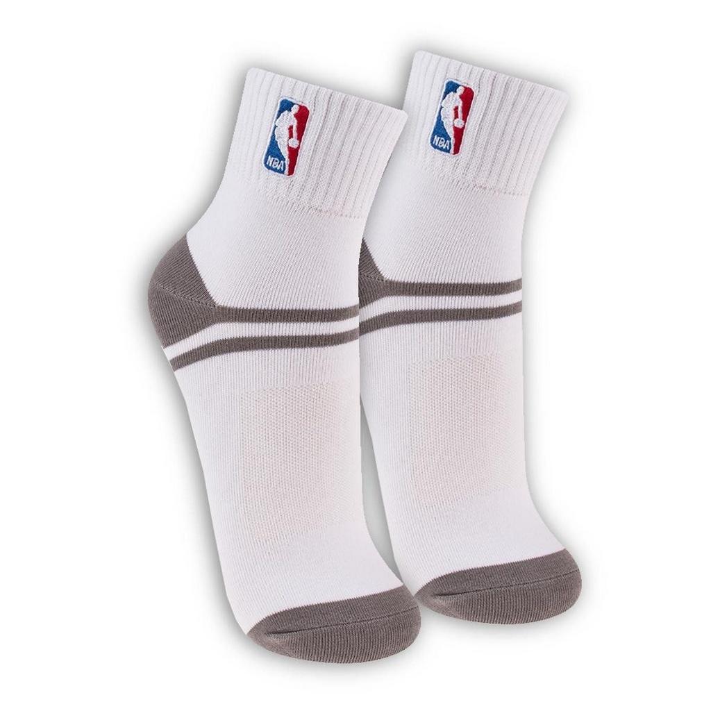 Meia NBA Cano Baixo - Branca