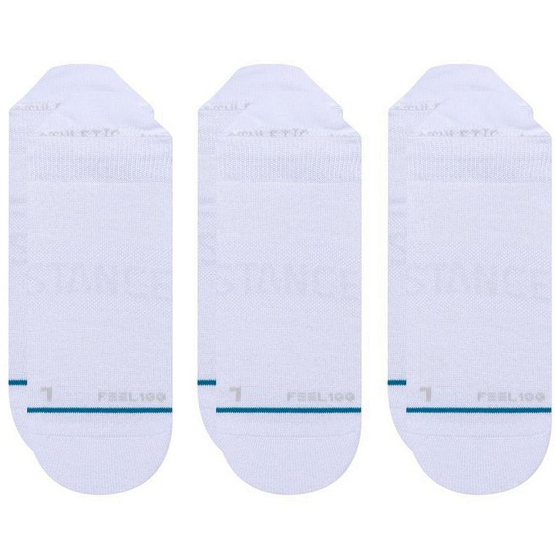 Meia Stance Invisible Prime Tab Pacote Com 3 Pares - Branca
