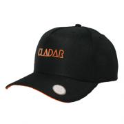 Boné Snapback Baseball Preto - Caveira Cladar Laranja
