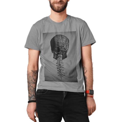Camiseta Estampada Masculina Cinza Cladar - Darwin