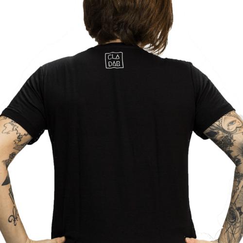 Camiseta Estampada Rock Feminina Preta Cladar - Pink Floyd