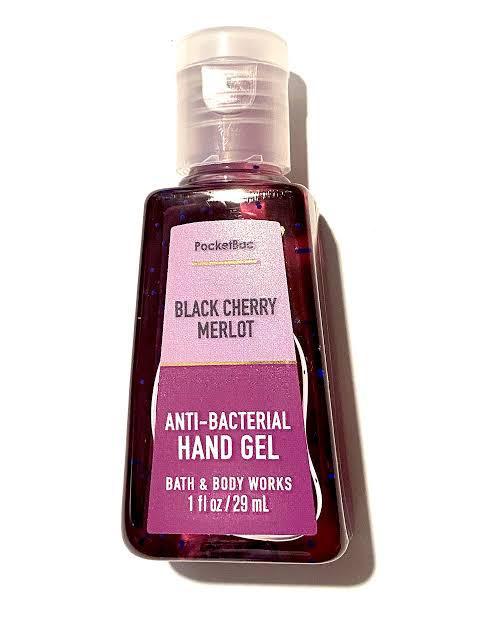 ÁLCOOL GEL - BLACK CHERRY MERLOT - BATH & BODY WORKS