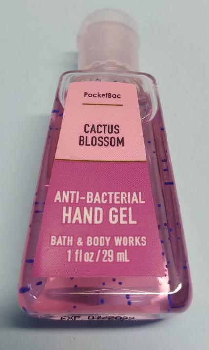 ÁLCOOL GEL - CACTUS BLOSSOM - BATH & BODY WORKS