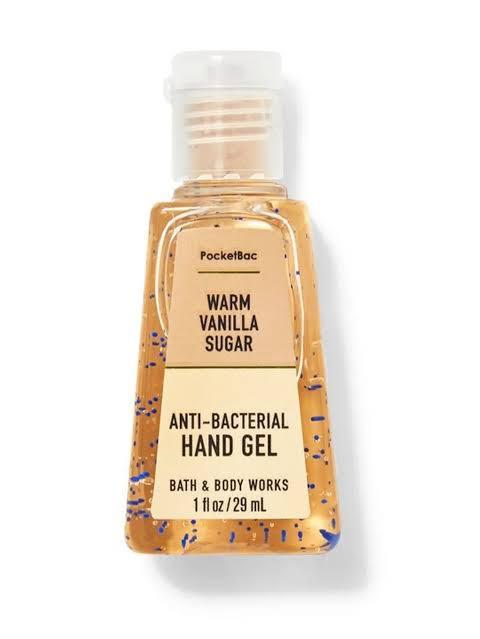 ÁLCOOL GEL - WARM VANILLA - BATH & BODY WORKS