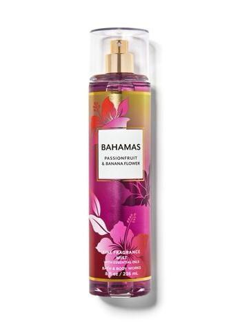 BODY SPRAY - BAHAMAS PASSIONFRUIT & BANANA FLOWER - BATH & BODY WORKS