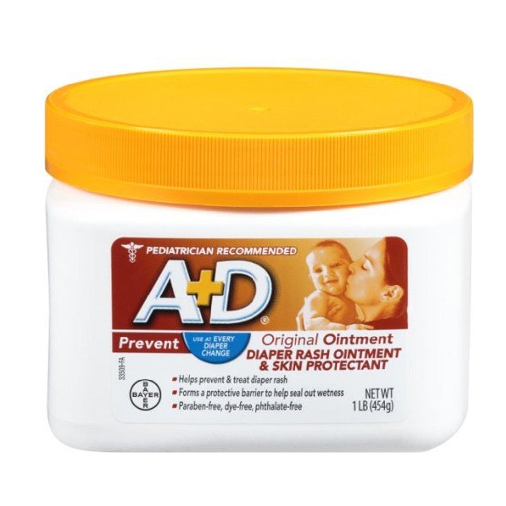 Pomada A+D Prevent Prevenções Contra Assaduras Pote 454g