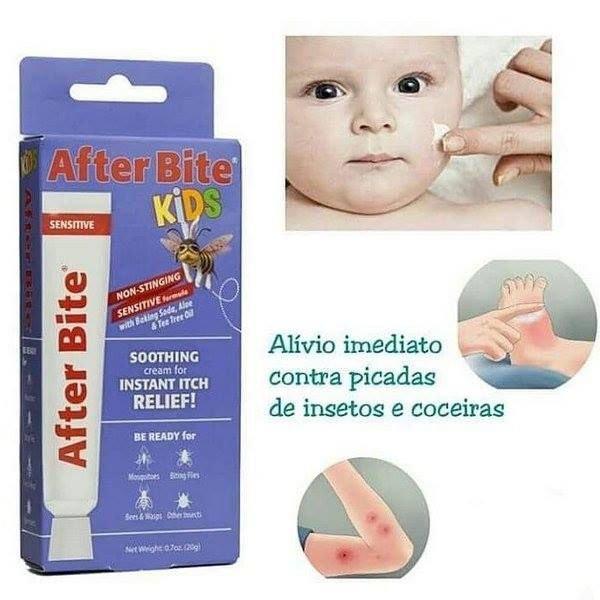 Pomada Alívio Instantâneo Das Dores e Coceiras After Bite - KIDS