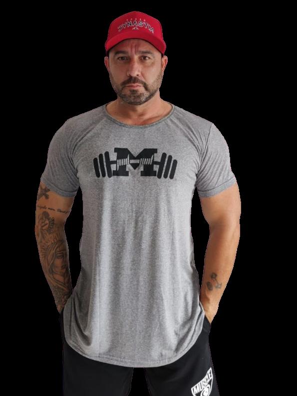 Camiseta Long Cruz Caveira