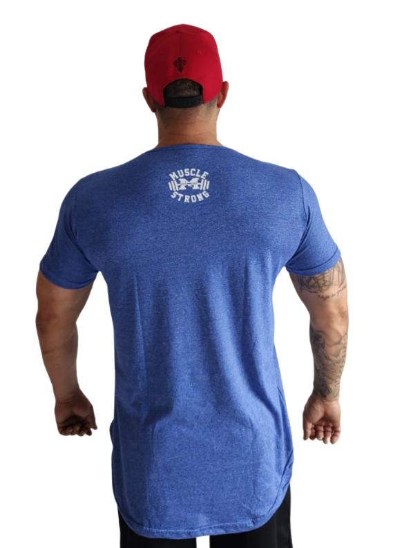 Camiseta Long Escrita Fina