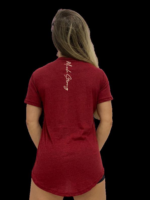 Camiseta Long Feminina Details