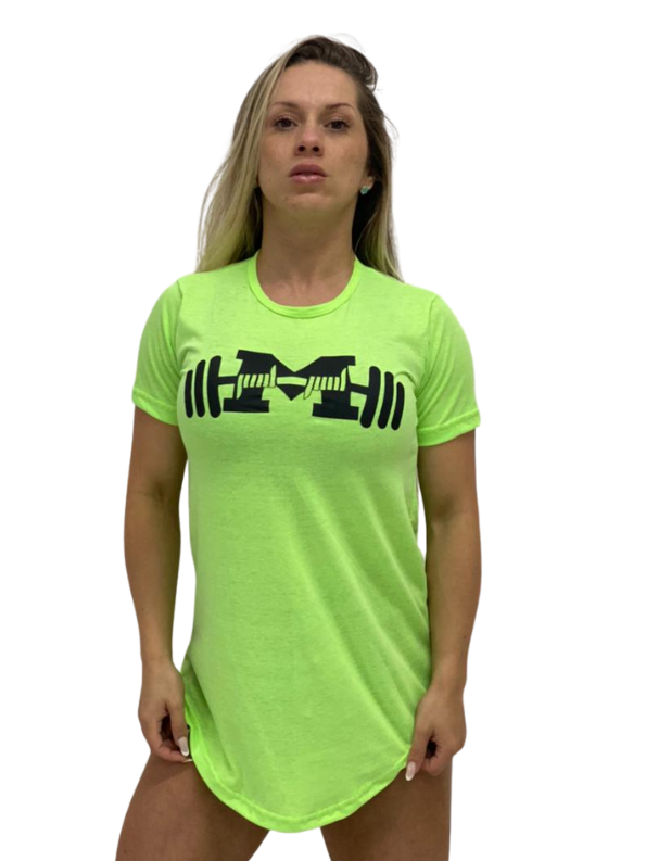 Camiseta Long Feminina KI SE LASKE