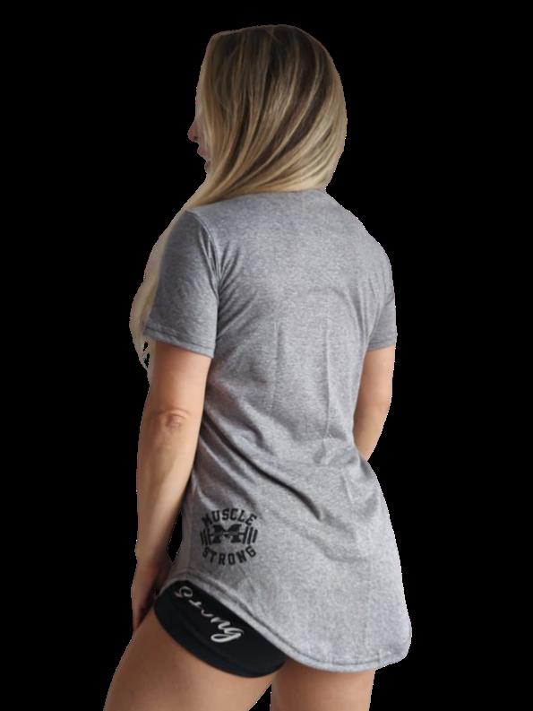Camiseta Long Feminina Menina