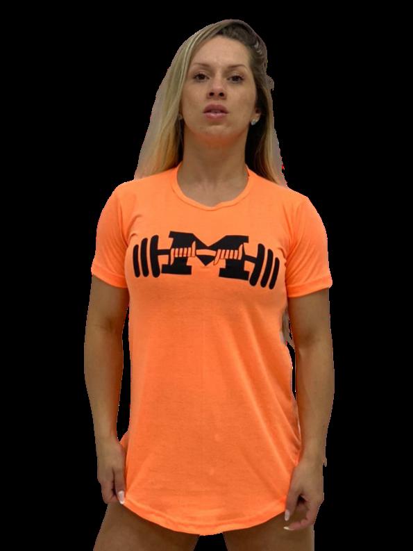 Camiseta Long Feminina Não me Enche o Saco
