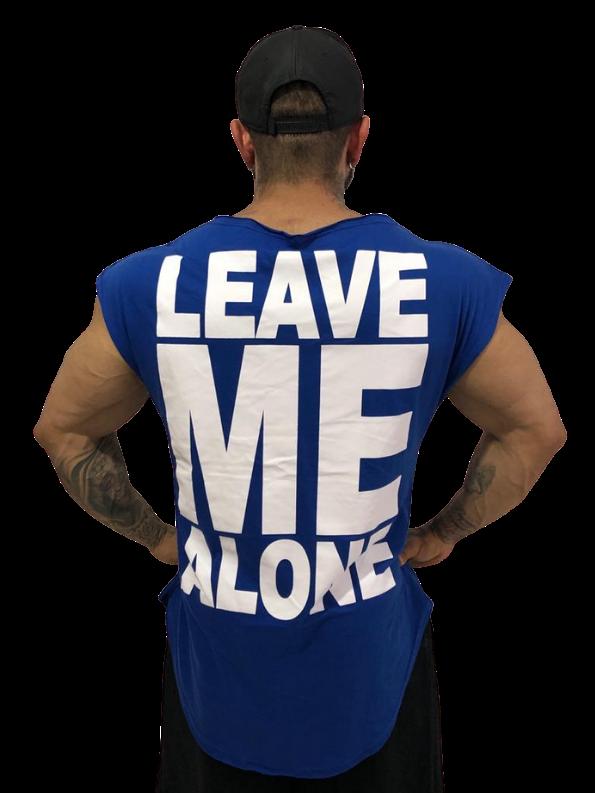 Camiseta Manga Japonesa Leave Me Alone