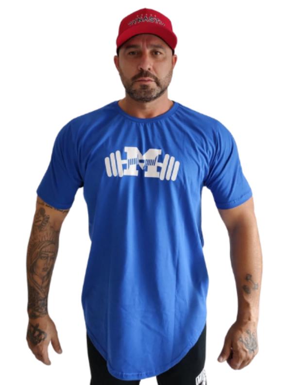 Camiseta Strong Bodybuilder Style Azul