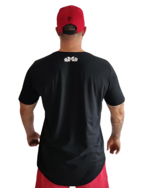Camiseta Strong Caveira Tênis Preta