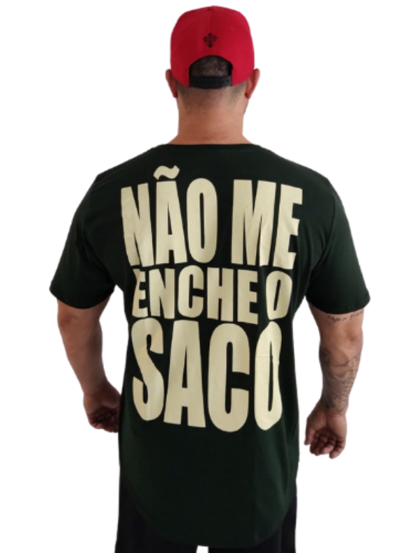Camiseta Strong Não Me Enche o Saco