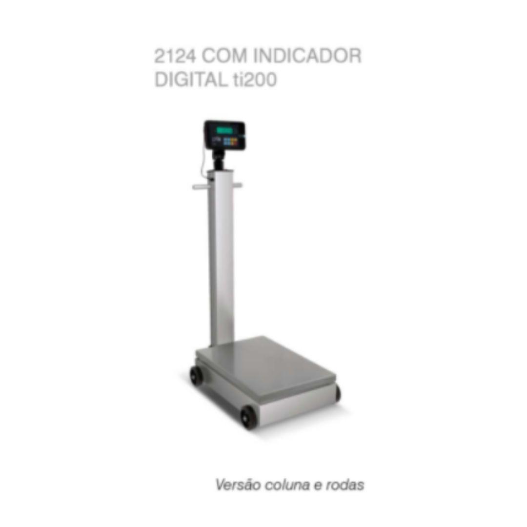BALANÇA ELETRÔNICA TOLEDO BRASIL - PORTÁTIL 2124 C/ INDICADOR DIGITAL TI200