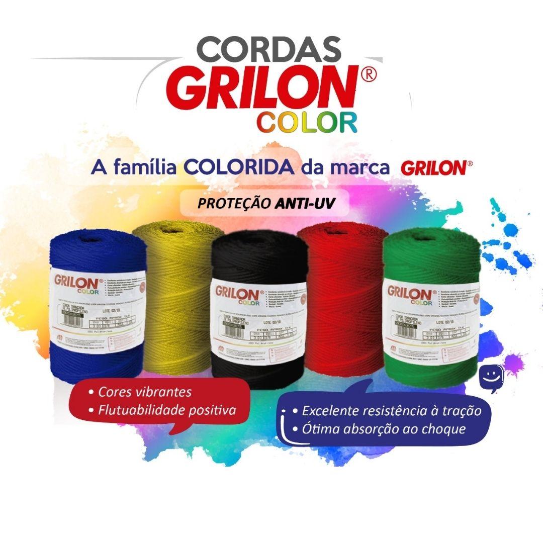 CORDA MAZAFFERRO GRILON COLOR TRANÇADA POLIPROPILENO