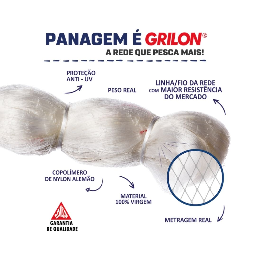 PANAGEM MONOFILAMENTO GRILON