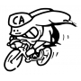 Pneu Continental Giro 28x22mm Tubular