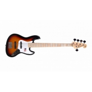 Contra-Baixo SX SJB Jazz Bass 5 Cordas Passivo