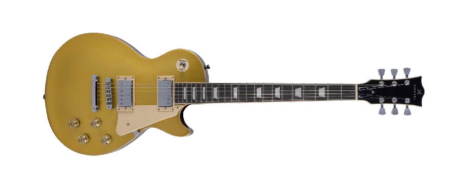 Guitarra Les Paul Michael GM730N Gold