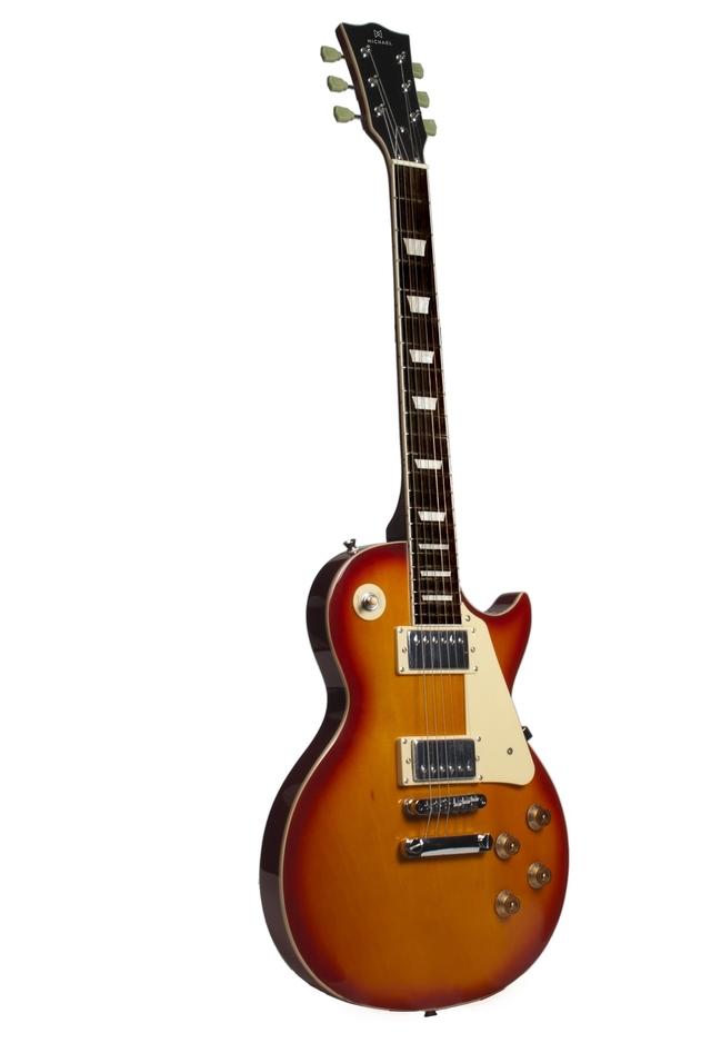 Guitarra Les Paul Michael Strike GM750N CS