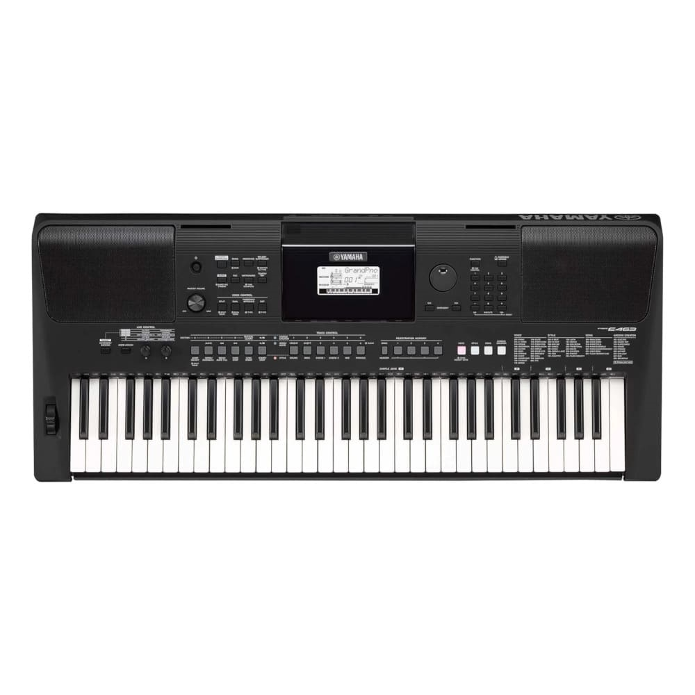 Teclado Yamaha PSR E-463 61 Teclas Sensitivas com Fonte Bivolt