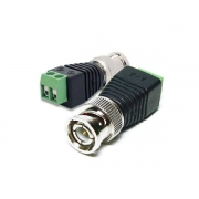 Conector Para CFTV BNC Macho de Borne
