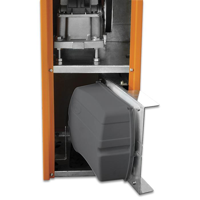 Cancela Eletrônica Automática Barrier Jetflex Brushless Universal PPA s/ Barreira