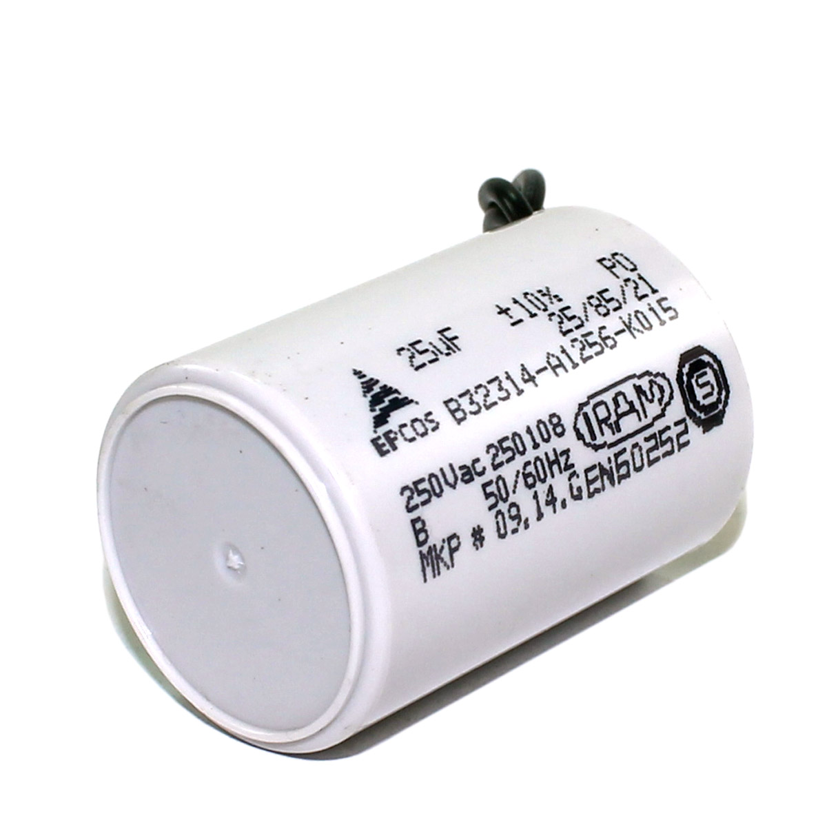 Capacitor 25Uf para Motor de Portão 110v