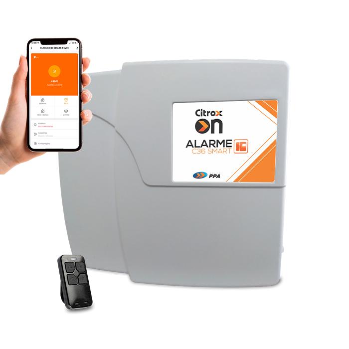 Central de Alarme Wifi Monitorável via App/Alexa C36 Citrox On