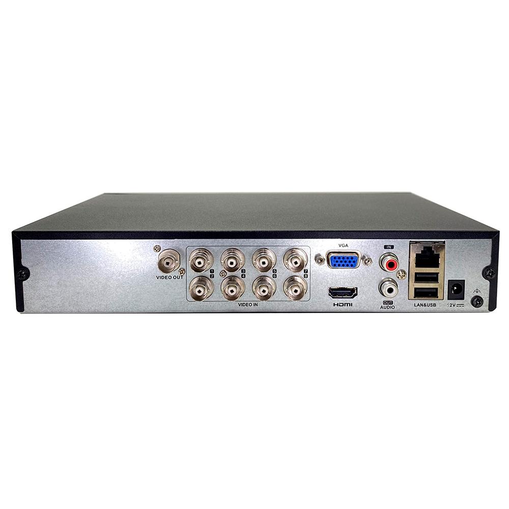 Dvr Gravador Stand Alone 08ch FullHD DS-7208HGHI-K1 -  Hikvison