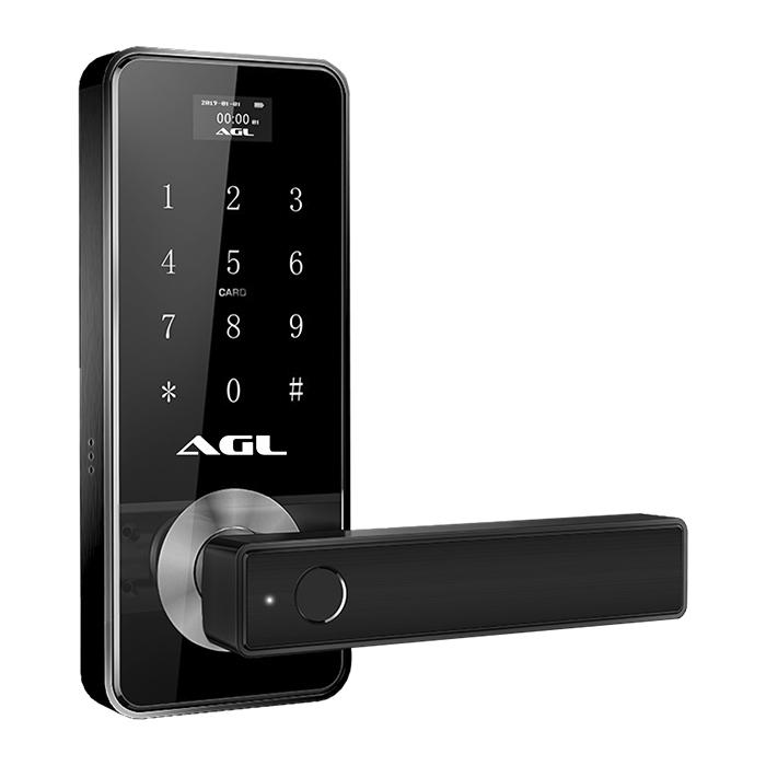 Fechadura Eletrônica Digital H10 Bluetooth, Visor Digital, Biometria, Chave Mecânica, Gerenciamento via Aplicativo