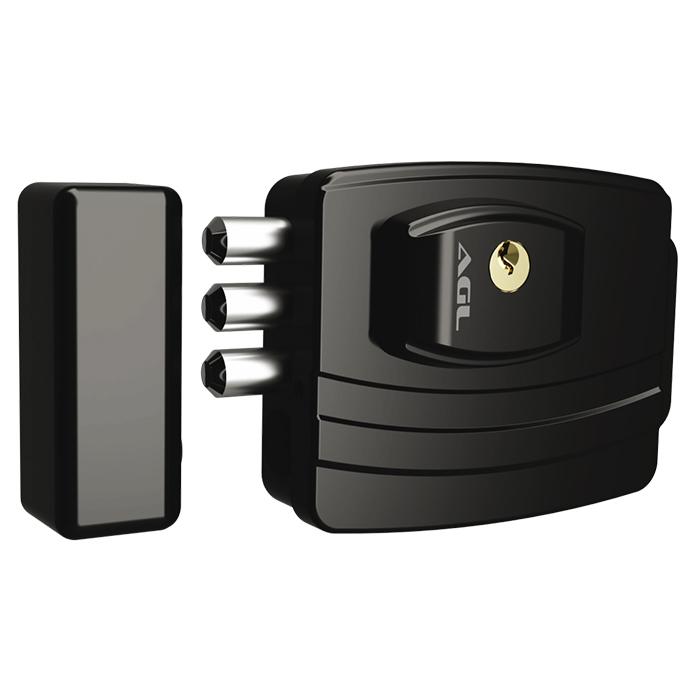 Fechadura Eletrônica para Portão Social 3 Pinos Ultra AGL