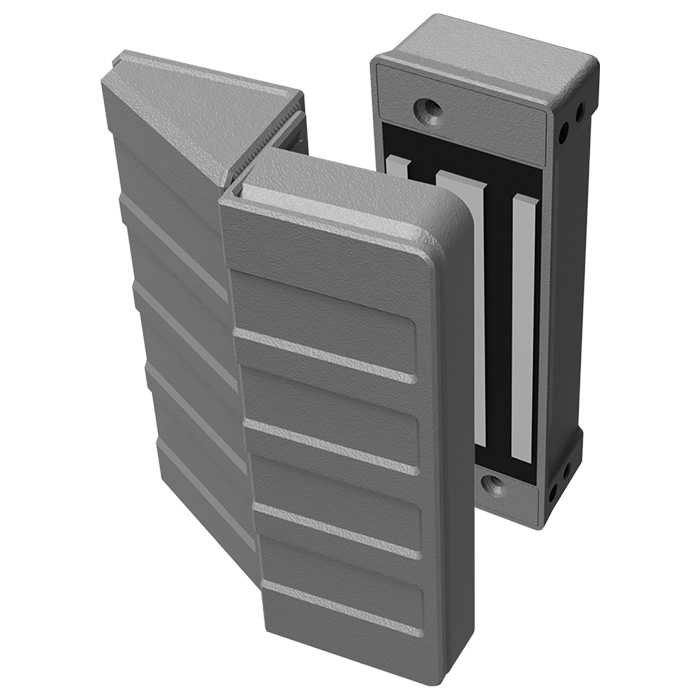 Kit Fechadura Eletroímã 12v 150Kg AL150