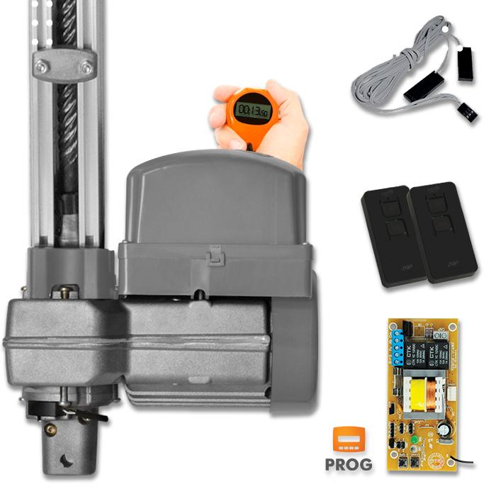 Kit Motor para Portão Basculante BV Penta Condominio Predial Analógico 1/2hp 16seg