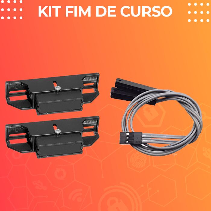 Kit Motor para Portão Deslizante DZ Cube 550 KL Analógico 13,5seg