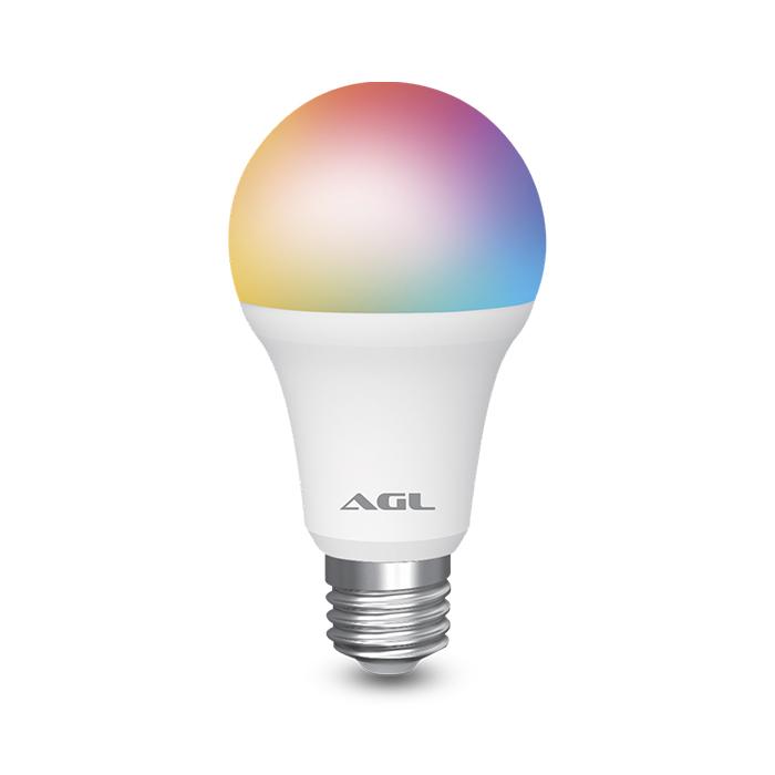 Lâmpada Inteligente WiFi RGB 9W - 16 Milhões de Cores
