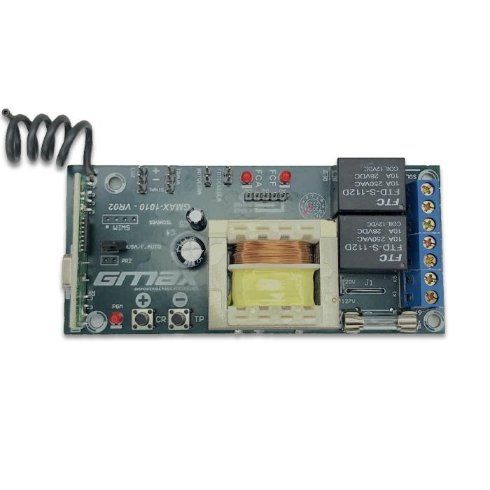 Placa Central para Motor de Portão Universal 1010 Bivolt Gmax