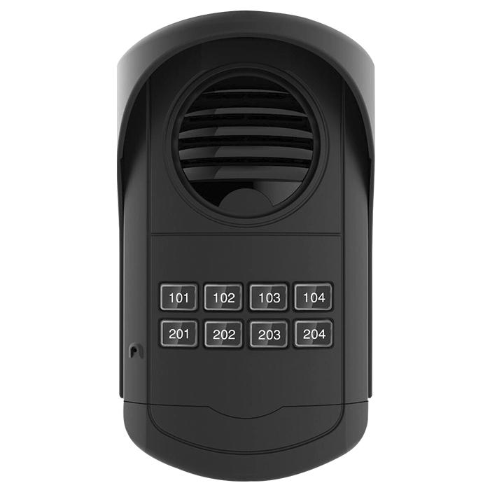 Porteiro Eletrônico Coletivo Analógico S300 08 Pontos