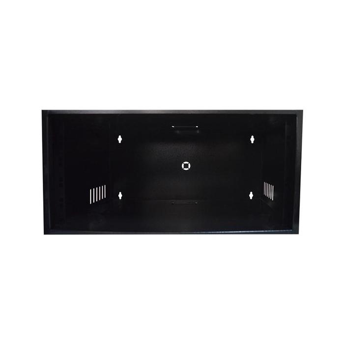 """Rack Organizador para CFTV Padrão 19"""" 5U x 350mm c/ Visor Acrílico"""