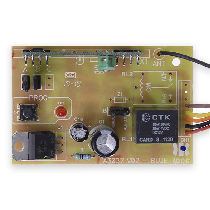 Receptor 1 Canal para Controle 433,92Mhz Immunity
