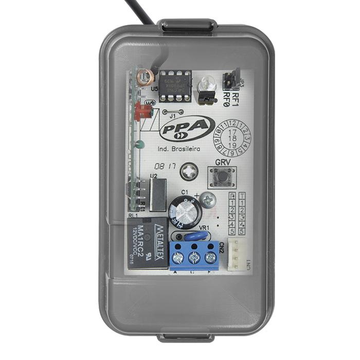 Receptor de Controle 433,92Mhz Alcance Com Relé PPA