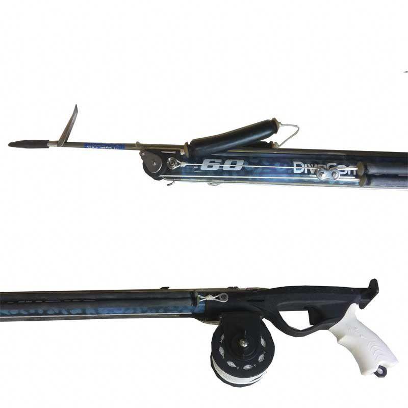 ARBALETE DIVE COM SHARK ROLLER ( tamanhos 120 a 150)